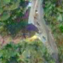 Satellite image of the Lion's Head along Kennon Road in Baguio City