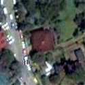 Satellite image of the Aguinaldo Museum in Baguio City
