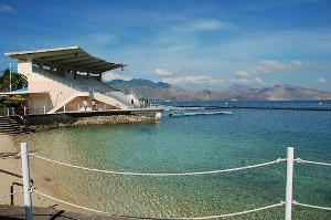 Photo of the El Capitan Stadium at Ocean Adventure in Subic Bay.