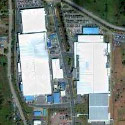 Satellite image of Intel Philippines in Gen. Trias, Cavite.