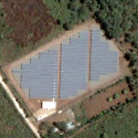 Satellite image of the CEPALCO 1-MW Photovoltaic Power Plant in Cagayan de Oro, Misamis Oriental.