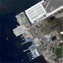 Satellite image of the Batangas International Port in Batangas City.