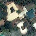 "Satellite image of President Joseph ""Erap"" Estrada's alleged Boracay Mansion in New Manila, Quezon City."