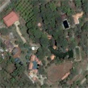 Satellite image of the resthouse of President Joseph Estrada in Tanay, Rizal.