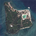 Satellite image of the Grande Island Resort in Subic Bay.