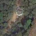 Satellite image of the spot marking the Angono Petroglyphs in Binangonan, Rizal.