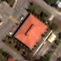 Satellite image of the ARMM Capitol Building in Cotabato City.