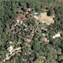 Satellite image of the Gardens of Malasag Eco-Tourism Village in Cagayen de Oro City.