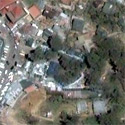 Satellite image of Mines View Park in Baguio City.