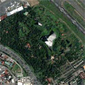 Satellite image of the original Nayong Pilipino in Pasay City.
