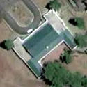 Satellite image of the Mansion House in Baguio City.