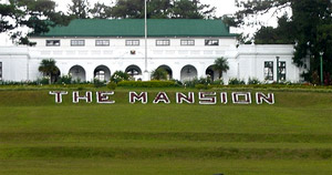 Photo of The Mansion in Baguio City.