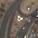 Satellite view image of the Aguinaldo Monument in Bacoor, Cavite.