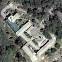 Satellite image of the Lourdes Grotto and Jesuit Retreat House on Mirador Hill, Baguio City.