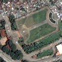 Satellite image of Pinaglabanan Shrine in San Juan City, Metro Manila.