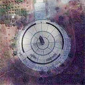 Satellite image of the obelisk at the Capas National Shrine in Capas, Tarlac.