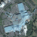 Satellite image of Festival Supermall in Alabang, Muntinlupa City.