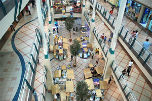 Photo of the central gallery of Festival Supermall.