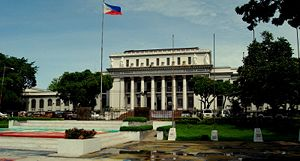 Facade of the Provincial Capitol Building of Negros Occidental.