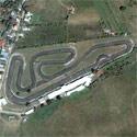 Satellite image of the Carmona Racing Circuit in Cavite.