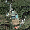 Satellite image of the Philippine Military Academy campus in Baguio City.