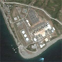 Satellite image of Ilijan Power Plant in Batangas City