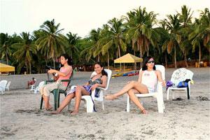 Beautiful ladies enjoying the afternoon at Montemar Beach Resort