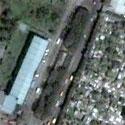 Satellite image of the Familia Luzuriaga Cemetery in Bacolod City