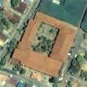 Satellite image of Barasoain Church in Malolos City, Bulacan