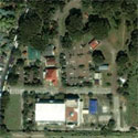 Satellite image of Plaza Luisita in Tarlac City