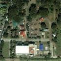 Satellite image of Plaza Luisita in Tarlac City