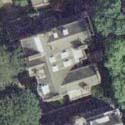 Satellite view image of the Embassy of the Philippines in London, UK.