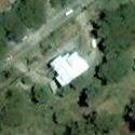 Satellite image of the Laperal House in Baguio City