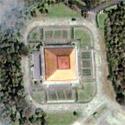 Satellite image of the Tanghalang Maria Makiling at the National Arts Center in Los Baños, Laguna