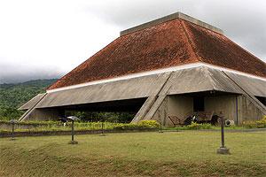 Facade of the Tanghalang Maria Makiling at the National Arts Center