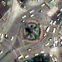 Satellite image of the Mabuhay Rotonda in Quezon City