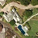 Satellite image of the house where Marcos lived out his last days in Hawaii