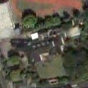 Satellite view image of the Official Residence of the Philippine Ambassador to Japan.