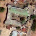 Satellite image of the Fort in Cuyo, Palawan