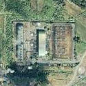 Satellite image of the Tiwi Geothermal Power Plant in Tiwi, Albay