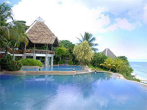 View of the pool at Panglao Island Nature Resort