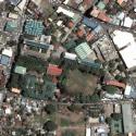 Satellite view image of Xavier University in Cagayan de Oro.