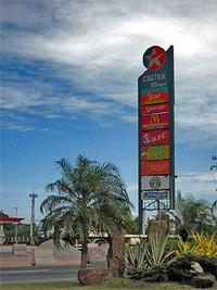 Caltex signage