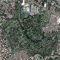 Satellite image of Manila Memorial Park in Parañaque City