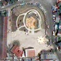 Satellite image of the Cry of Pugad Lawin Shrine in Quezon City
