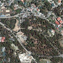 Satellite image of Wright Park in Baguio City