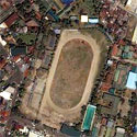 Satellite image of the site of People's Park in Davao City