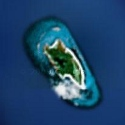 Satellite image of Apo Reef