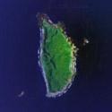 Satellite Image of Y'ami Island in Batanes.