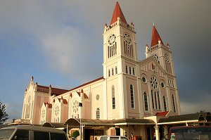 Facade of the Baguio Cathedral